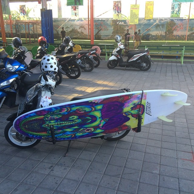 #ganesha #customer #customart  #funboard #balimadebaligood #bikeracks