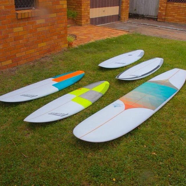 #weekend #warriors #quiver #surfboards #delight #newmodel #pu  #australianmade