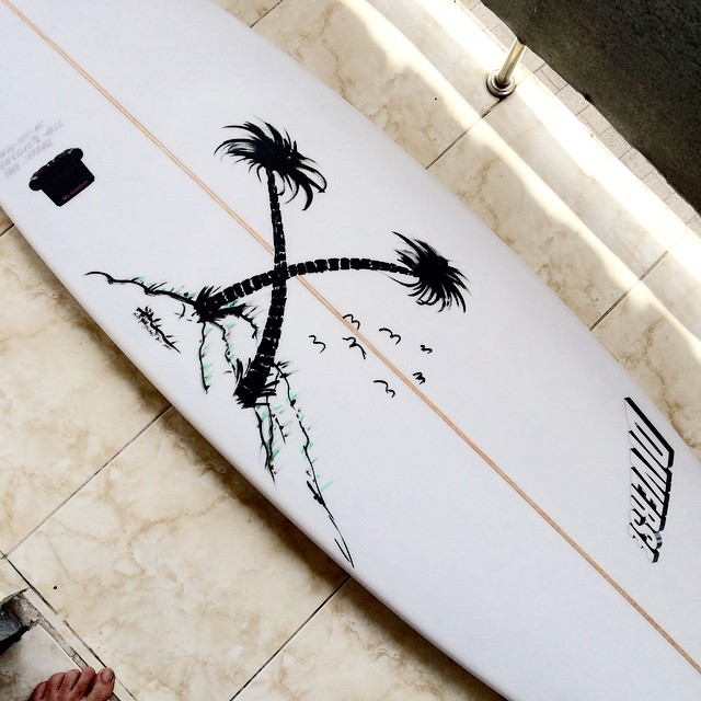 #my land #island #palmtree #balimadebaligood #handpainted #customart