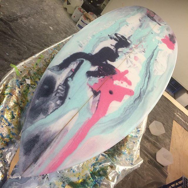 #resincolor #epoxyswirl #racingmullet #customsurfboard
