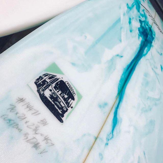 #bustonowhere #surfboard #custommade #pu #funboard #mini-Mal #letthosewhoridedecide
