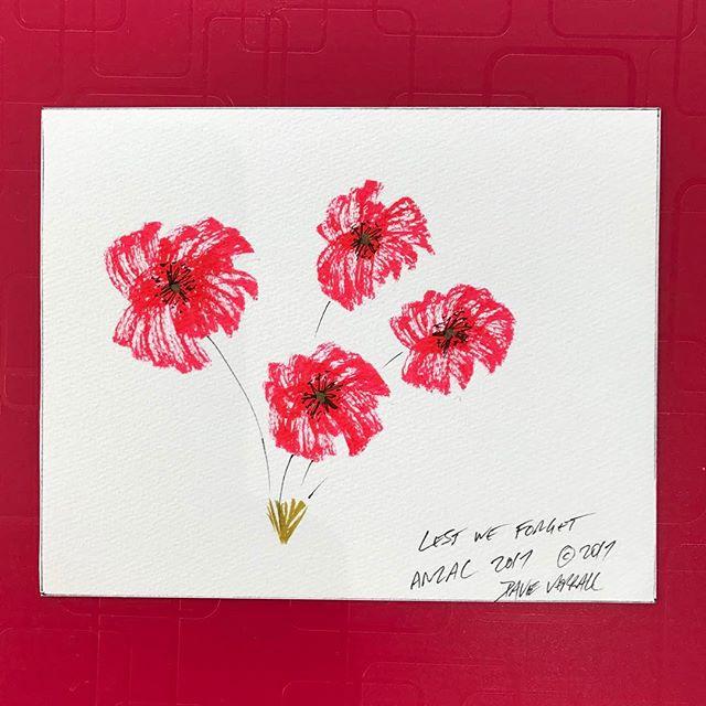 #lestweforget #handcrafting #heartgiving #thankyous