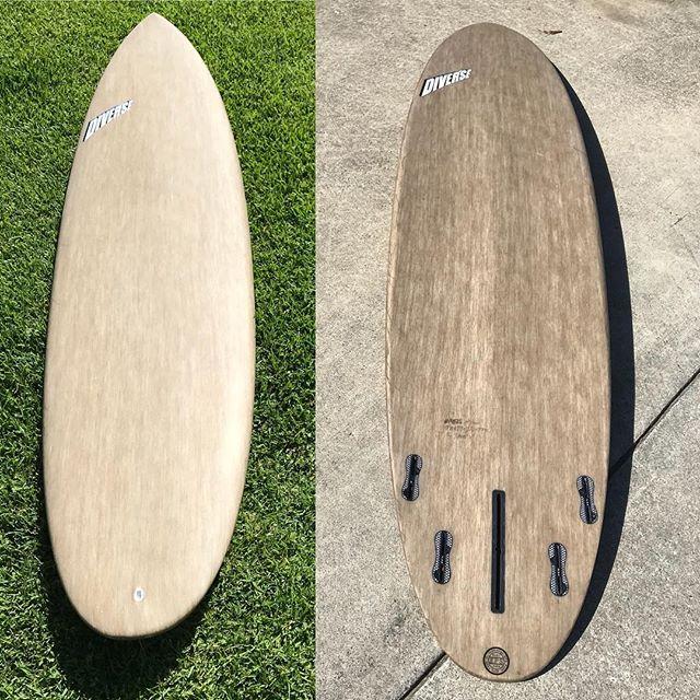 #flax #fibre #McBean #custom #epoxy #fcs2 #ausfin #doubleconcave #surfboard