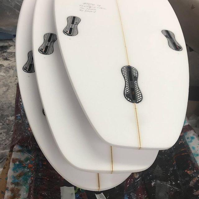 #customsurfboards #shaped for #deepsouthsurf @burfordblanks @fcs_surf #glassing #nextjob