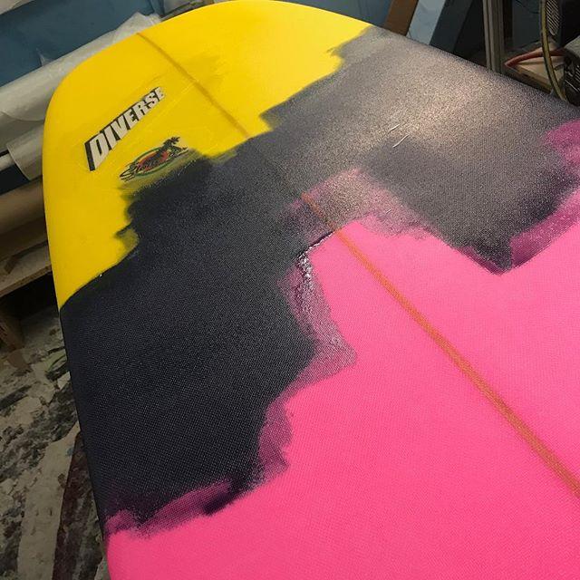 #freshresin #colourpop #hp #longboard #custom #australianmade #oneofakind #pink