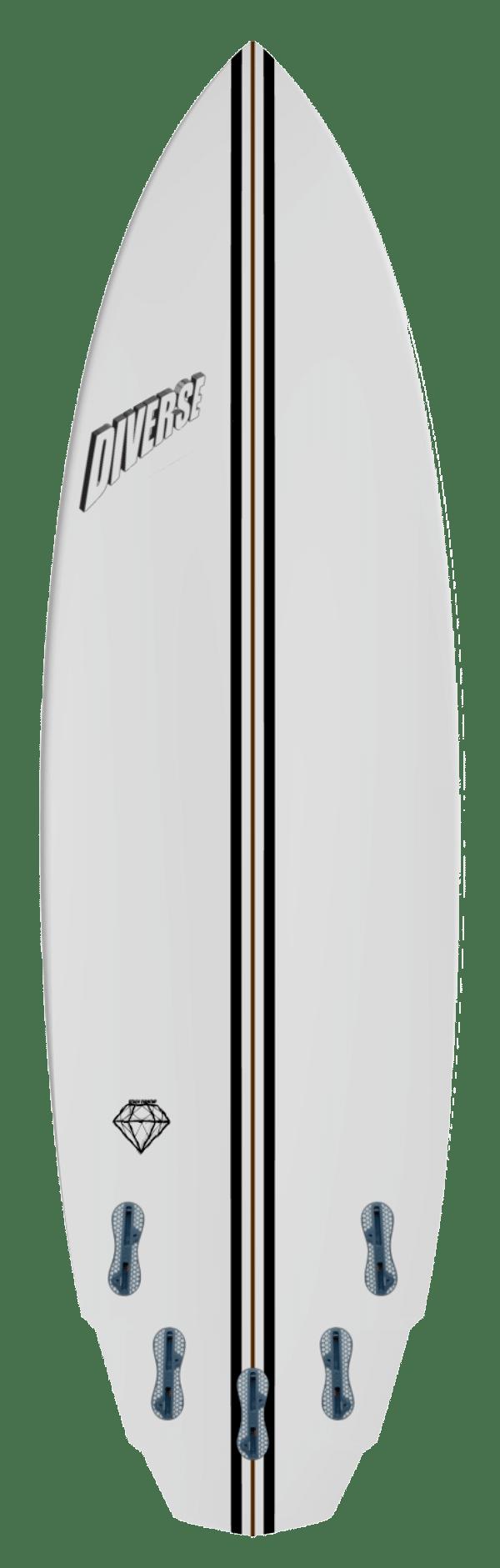 Diamond surfboard model
